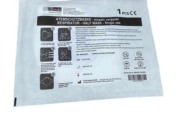 Atemschutzmaske FFP2 ohne Ventil